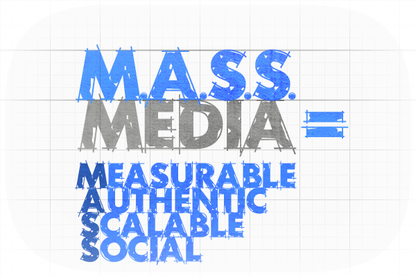 MASS: Measurable, Authentic, Scalable, and Social