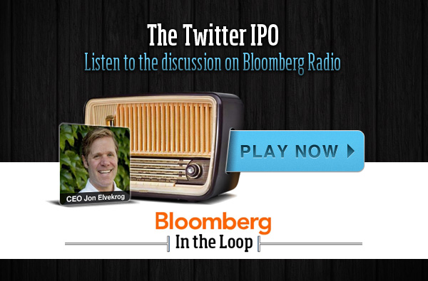 Jon Elvekrog on Bloomberg's In the Loop